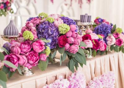 Rose and Hydrangeas